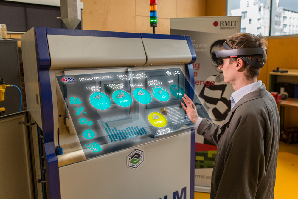 PTC & RMIT announce IoT partnership - Augmented Reality