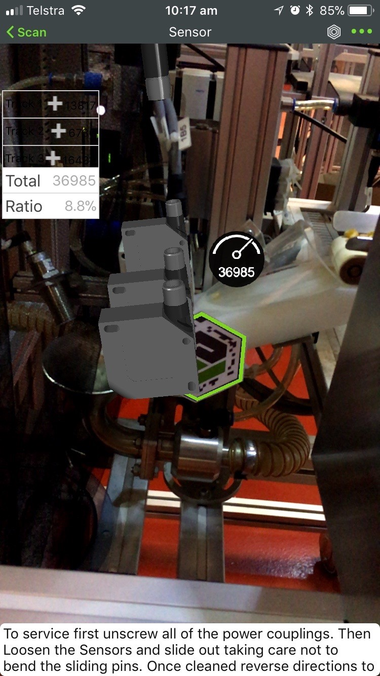 Augmented reality for Industry 4.0 applications at LEAP Australia